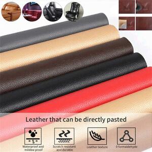Leather Repair Patch Kit PUSelf Adhesive Couch Sofa Car Seat Seat Tear Repair UK
