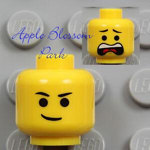 NEW Lego EMMET MINIFIG YELLOW HEAD - Male Movie Boy/Girl w/Classic Scream Smile