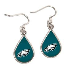 Philadelphia Eagles Wincraft NFL Tear Drop Earrings Carded FREE SHIP!