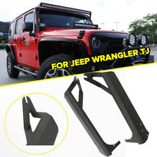 "50"" 52"" LED Light Bar Upper Roof Windshield Mount Bracket Jeep Wrangler TJ LJ"