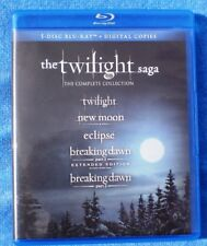 THE TWILIGHT SAGA: THE COMPLETE COLLECTION 5 DISC BLU-RAY + DIGITAL COPIES