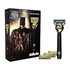 Gillette Fusion ProShield Men's Razor + 4 Blades Justice League Edition Gift Set