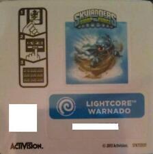 Lightcore Warnado Skylanders Swap Force Sticker/Code Only!