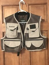 Simms Fly Fishing Vest Men's Small