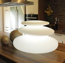 Deko Lampe Flatstones LED Licht mit Farbwechsel Tischlampe Nachttischlampe RGB
