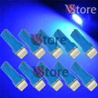 10 LED T5 SMD Blu Lampade Lampadine Luci Posizione Per Fari Angel Eyes Quadro W5