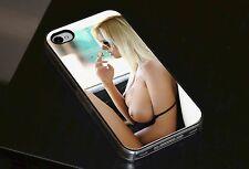 Sexy Girl fumé Seins FHM étui Pour téléPhone pour iPhone 4 4s 5 5s 5c 6
