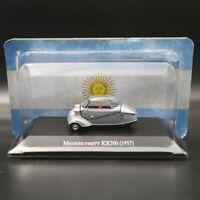 1:43 IXO Altaya Messerschmitt KR200 1957 Silver Diecast Models Limited Edition