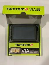 TomTom VIA 1505M 5 Inch Portable GPS Navigator Lifetime Maps Edition - Ex. Cond.
