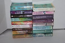 Large Lot of 17 Nora Roberts Novels SC Books Sea Swept, The Reef, Going Home