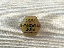 VERY RARE 2012 OLYMPICS LONDON CANDIDATE CITY PIN WITH THE INITIAL LOGO