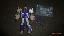 Transformers Generations Titans Return Blitzwing Voyager Figure Complete