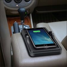 Qi Wireless Fast Charger Car Dashboard Holder Mount Non-Slip Silicone Pad Mat