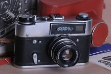 FED-5B 5 USSR Rangefinder 35mm Camera INDUSTAR-61 LD 2.8/55 Lens