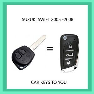 Suzuki Swift Remote Flip Key 2005-2007