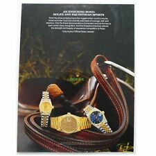 And Equestrian Sports Laminated Stand Vintage Rolex An Enduring Bond: Rolex
