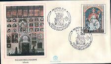 FDC ITALIA PRIMO GIORNO DI EMISSIONE 1989 PALAZZO DELLA RAGIONE PADOVA 7-74