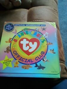 Ty Beanie Babies First Edition Official Membership Kit New And Sealed NO OFFERS
