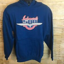 NWT 2009 Indianapolis 500 Blue Hoodie - Size Medium
