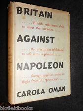 Britain Against Napoleon by Carola Oman - 1942-1st - Napoleonic War, History HB