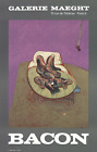 FRANCIS BACON Personnage Couche 28 x 17.5 Lithograph 1966 Expressionism Gray, Pu