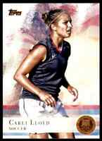 2012 TOPPS OLYMPICS COPPER CARLI LLOYD SOCCER #83 PARALLEL
