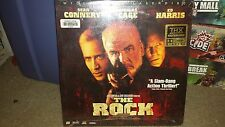 The Rock Sean Connery Nicholas Cage Laserdisc THX Extended Play Movie Like New