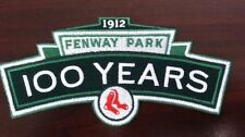 Red Sox patch Boston Red Sox Fenway Park 100th Anniversary patch FREE SHIPPING