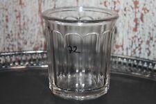 Ancien joli pot à confiture - 12 facettes - REF 72