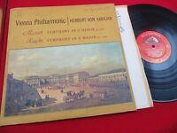 HERBERT VON KARAJAN/VIENNA PHILHARMONIC MOZART SYMPHONY IN G w/BOOKLET RCA VICTO