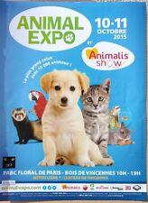 page de publicite  ANIMAL EXPO avec chat     en 2015    ref. 53549