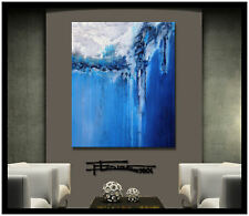 MODERN ABSTRACT CANVAS PAINTING WALL ART Large Direct from Artist USA  ELOISExxx