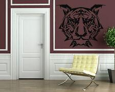 Wall Stickers Vinyl Decal Animal Tiger Tribal Predator Wall Decor Mural ig025