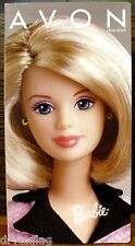 Vintage Blonde Avon Representative Barbie 22202 1998 NRFB Ring Right Recall