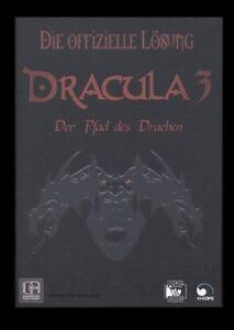 DRACULA 3 - DER PFAD DES DRACHEN - LÖSUNGSBUCH IN DEUTSCH - Lösung komplett