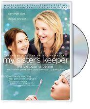My Sister's Keeper (DVD, 2009, Canadian; Bilingual) - Cameron Diaz - Brand New