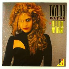 "12"" MAXI-TAYLOR DAYNE-Tell It to My Heart (House of Hearts Mix) - e552"