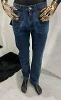 STEFANO RICCI Men's Denim Slim Fit Jeans W34 / L34 (100% Authentic & New)