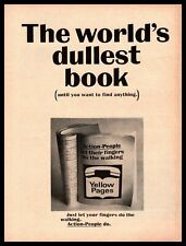 1966 Yellow Pages Phone Book