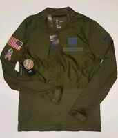 Nike Mens New York Giants Salute To Service STS Hybrid Jacket  2018 Size Medium