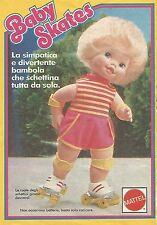 X0695 Baby Skates - Mattel - Pubblicità del 1985 - Vintage advertising