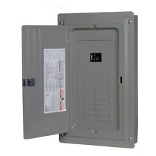 NEW Siemens 100-AMP 20-Space-Circuit Indoor Home Main-Circuit-Breaker Box Panel