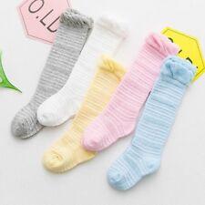 Nouveau-né Toddler genou haute dentelle Chaussettes bébé longues chaussettes