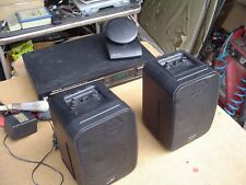 Recoton Black 2-Way Wireless Stereo Speaker System Complete