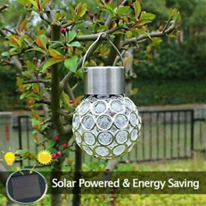 Powered Retro Bulb Light For Garden Lamp Lantern Outdoor Fairy Globe Solar 2X/4X