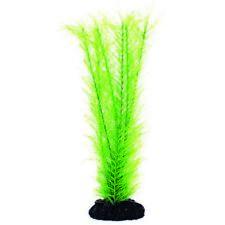 Aqua One Seta pianta Achillea millefoglie verde 20 cm acquario in plastica per acquari piante M