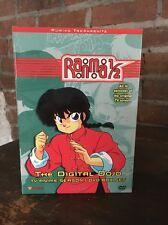 Ranma 1/2: Digital Dojo - TV Season 1 Box Set (DVD, 2001, 4-Disc Set) #130