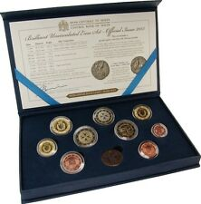 RARE Coffret Bu Malte MALTA 2015 : 8 Pièces + La 2 Euro Aviation 1er Vol TOP !!!