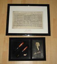 Montblanc Johann Sebastian Bach, 2er set, FH KS, casi nuevo! Limited Edition