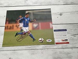 Sebastian Giovinco Signed Italy Italia 8x10 Photo PSA/DNA COA Autographed h